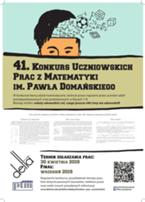 41. Konkurs Prac Uczniowskich z Matematyki